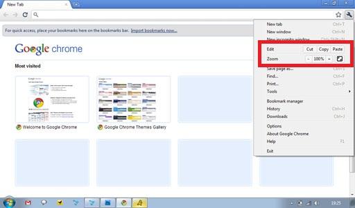 chrome 6 cut copy paste1 15 Ultimate Features of Chrome 6