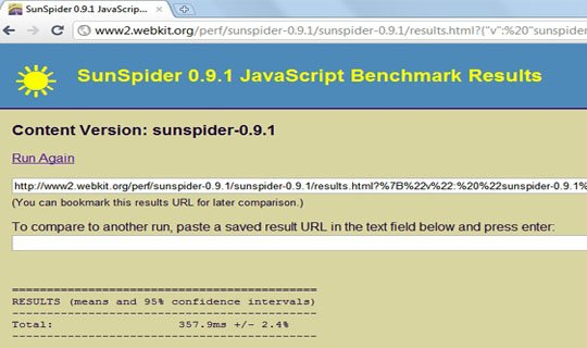 chrome 7 sunspider javascript benchmark image1 Opera 10.70 Is Faster Than Chrome 7!