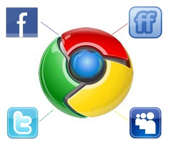 google facebook twitter friendfeed myspace updates1 Google Adds Facebook, MySpace, FriendFeed To Real Time Updates
