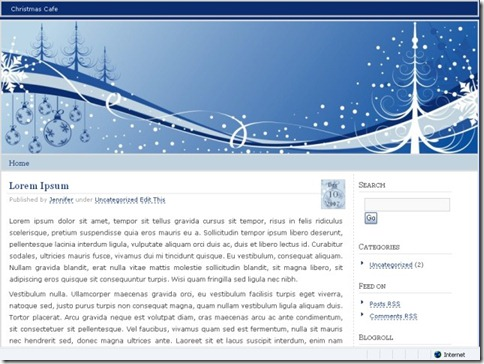 10 Chistmas Cafe WordPress Theme thumb 40+ Best Free Christmas WordPress Themes [Updated]