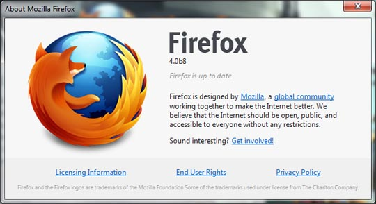 firefox 4 beta 8 Mozilla Will Soon Stop Shipping Firefox 3.6 To Users!