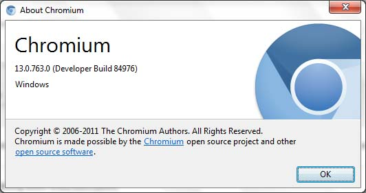 chromium 13 about image Chromium 13 Gets Restrict Instant To Search And Better Multi Profile UI