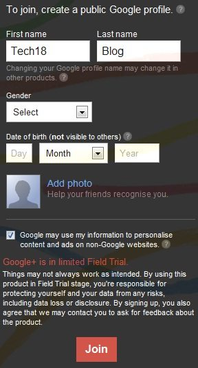 google+ join