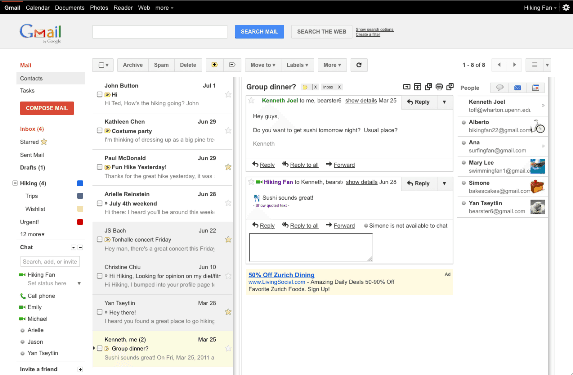 Preview Pane Original How To : Enable Gmail Preview Pane