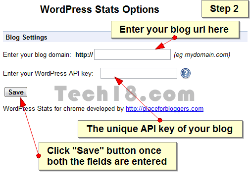 WordPress Stats Step 2 [How To] Access WordPress Stats via Chrome Extension