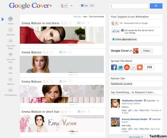 4 google cover 5+ Fabulous Sites For Free Google Plus Covers