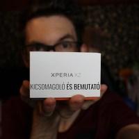 Kezünkben a Sony Xperia XZ - kicsomagoltuk