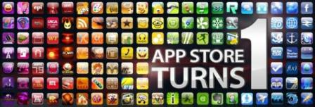 apple app store turns 1
