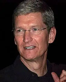 Tim Cook among top paid list in 2010