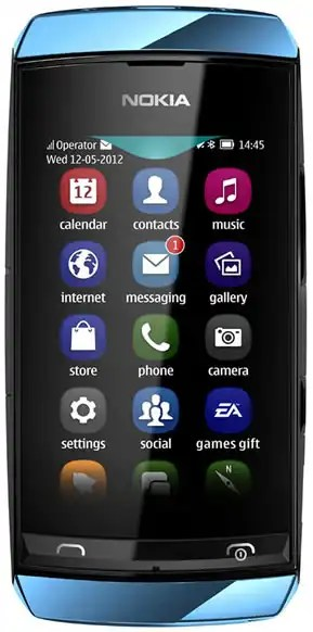 Nokia Asha 306 specs and features