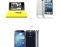 Lumia 920 Vs iPhone 5 Vs Galaxy S4