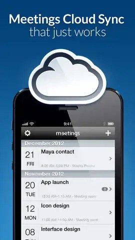 Meetings iPhone Productivity apps