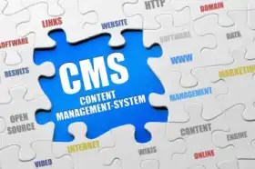 Content management software diagram