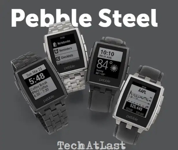 Pebble Steel Wearable