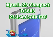xperia z3 compact .740 ftf download