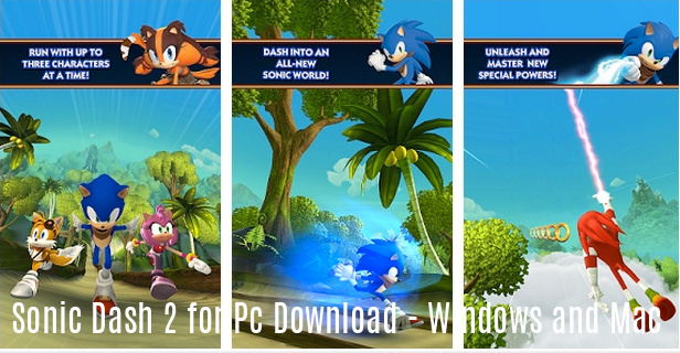 Sonic Dash 2 for Pc Download - Windows and Mac