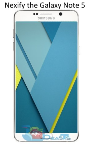 Note5 official iamge