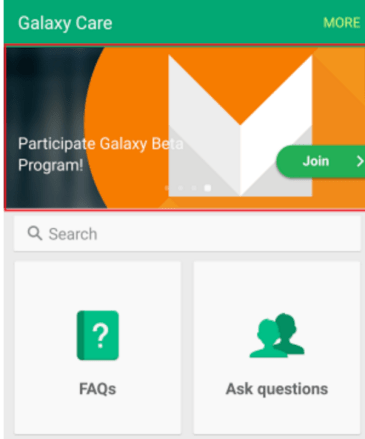 Galaxy Care application