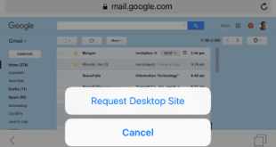 Show Full Version of Gmail on iPad or iPhone