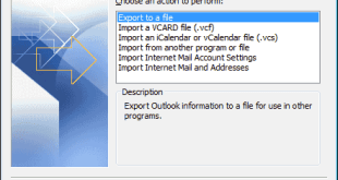 Import Outlook Contacts Into Windows Live Mail