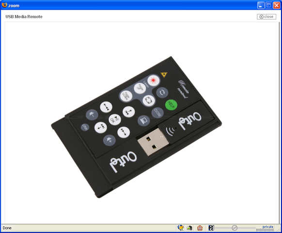 Outel Laptop USB Media Remote