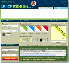 Online Ribbon Generator Tool_1195805238790