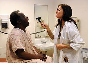 English: SAN DIEGO (March 7, 2011) Nurse pract...