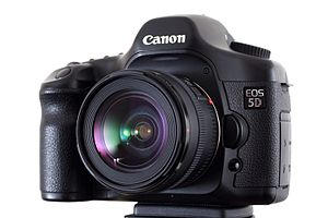 Canon EOS 5D digital SLR camera with Canon EF ...