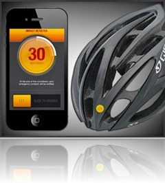 Smart crash reporting for cyclist bicycle (and other) helmets?