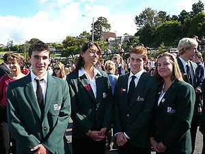 300px Orewa College student Anzac Day parade Tech tips for college bound students and their parents
