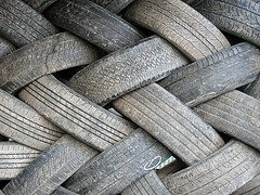 After the rubber hits the road: What becomes of expired truck tires?