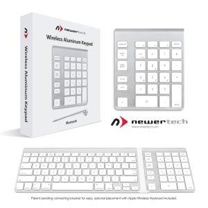 PR NTkeypad 300x300 NewerTech Announces Wireless Aluminum Keypad – The Keypad that Complements the Apple Keyboard You Already Love!
