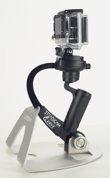 Steadicam Curve for GoPro Flies Into Stores