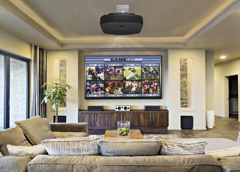 Epson Unveils New Line of Premium Ultra-Bright Pro Cinema Projectors for Custom Home Installation Market