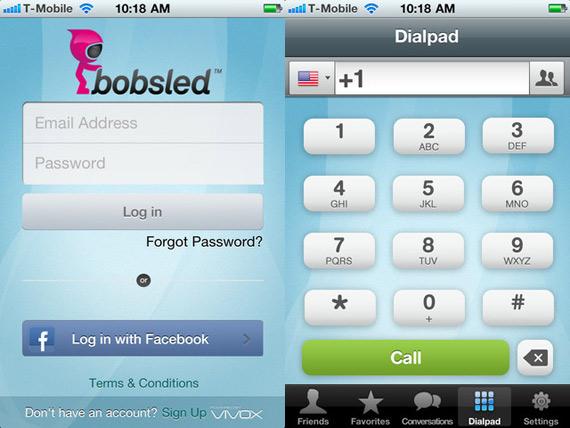 Η σύνδεση και η κλήση στην εφαρμογή