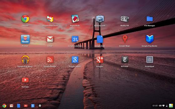 To launchpad στο Chrome OS