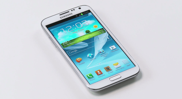 GALAXY Note II hands-on