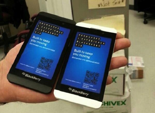 BlackBerry Z10 Dummy Units leak