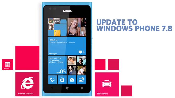 Windows Phone 7.8 Nokia Update