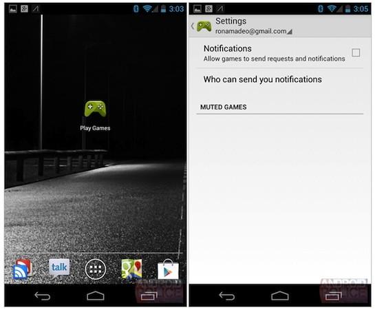 Google Play Games leak