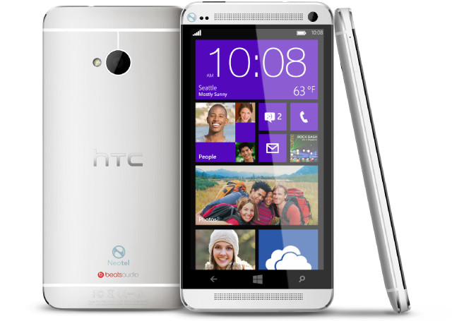 HTC One Windows Phone MockUp