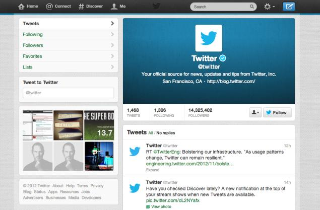 Twitter on Twitter
