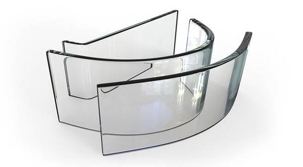 3D-Shaped Gorilla Glass