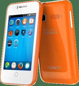 Alcatel OneTouch Fire C - Mozilla Firefox OS