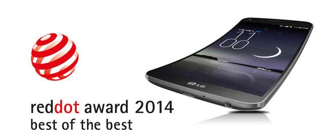 LG G Flex RedDot Award 2014