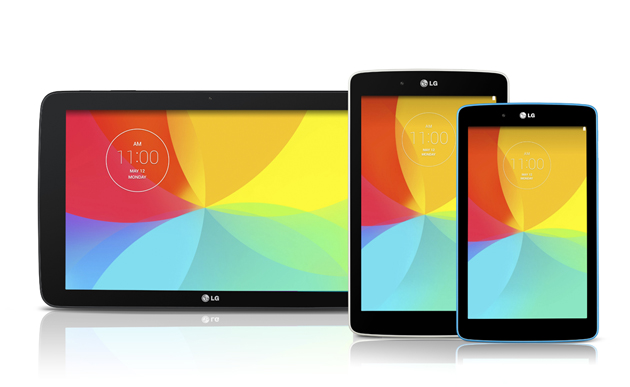 LG G Pad tablet family