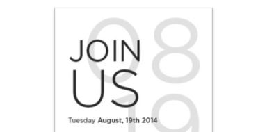 HTC August Event Invite