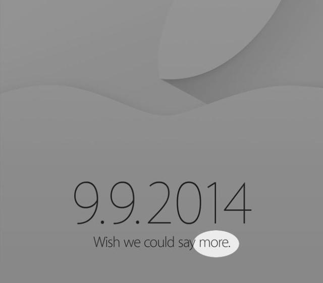 Apple September 2014 Invite More