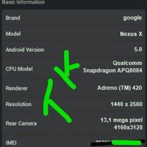 Nexus X Screenshot leak