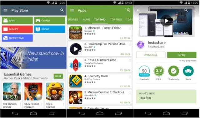 Google Play Store v5.0